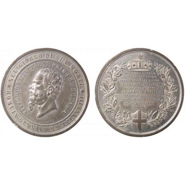 Regno d'Italia Morte Vittorio Emanuele II 1879