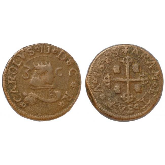 Cagliari 3 Cagliaresi 1685
