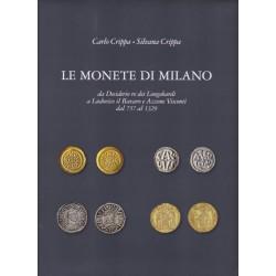 LE MONETE DI MILANO VOL. I   Carlo Crippa, Silvana Crippa