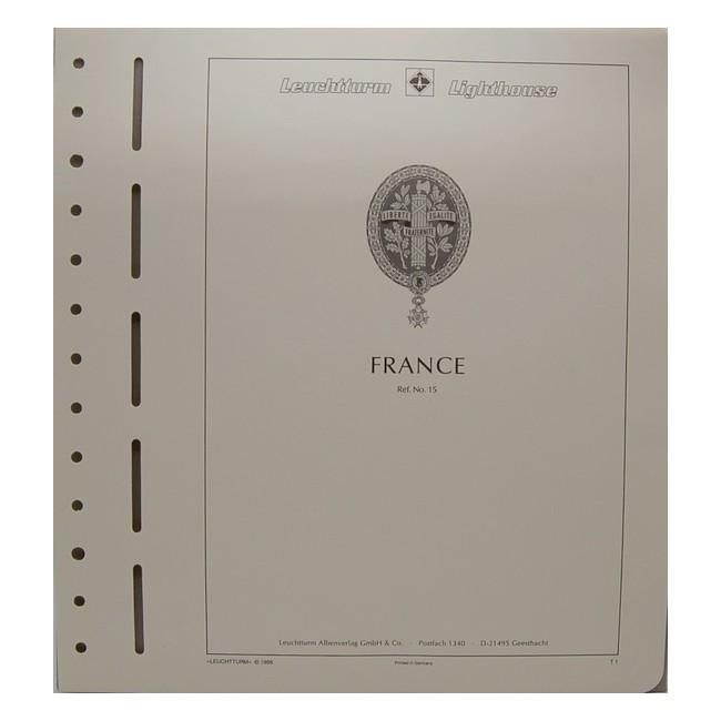 Pagine d'album FRANCIA (con taschine)