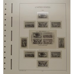 Pagine d'album USA (con taschine)